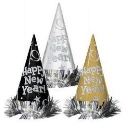Happy New Year Glitteres Szilveszteri Csákó Kalap