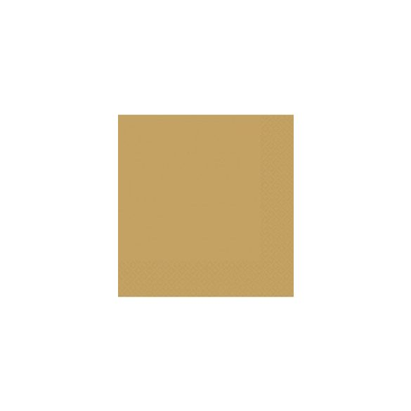 Gold papír szalvéta