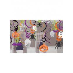 Halloween Spirális Függő Dekoráció - 30 db-os