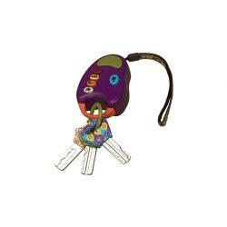 B.Toys hangadó rágható kulcsok lila