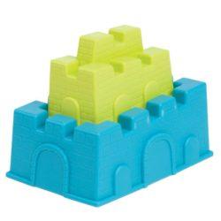 B- Toys Castle-Blanca téglanyomó szett (Kék-zöld)