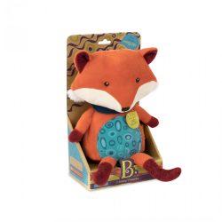 B.TOYS Pipsqueak - A beszélő róka (1513, plüss interaktív bébijáték 0-3 év)