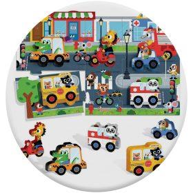 Járműves puzzle