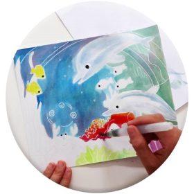 Kifestők, színezők