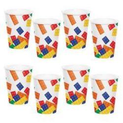 Block Party - Lego Parti pohár - 8 db-os, 27 cm
