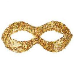 Arany Glitteres Szemálarc