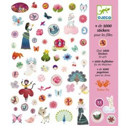 Matricák - 1001 matrica - 1000 stickers for girls