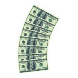 100 Dolláros Parti Szalvéta