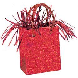 Piros prismatic mini ajándéktasak lággömbsúly