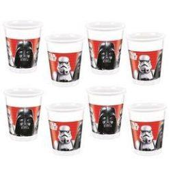Star Wars Final Battle Parti pohár - 200 ml, 8 db-os