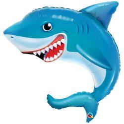 36 inch-es Smilin'Shark - Mosolygó cápa fólia lufi