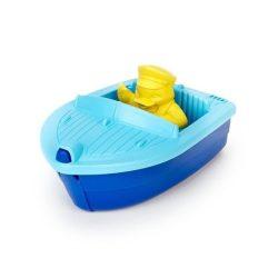 GREEN TOYS Mini hajó, kék