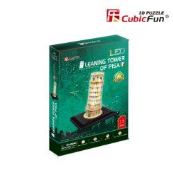 Pisai ferde torony - 3D puzzle LED-es