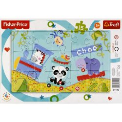 Fischer-Price - Happy train puzzle 15 db-os