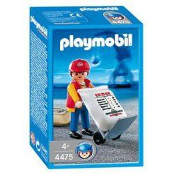Playmobil: Dokkmunkás görgős anyagmozgatóval (4475)