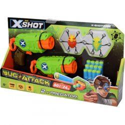 X-Shot: Bogártámadás - predator TK-3 dupla