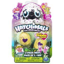 Hatchimals Colleggtibles meglepetés csomag 2 db-os Tojás fészekkel