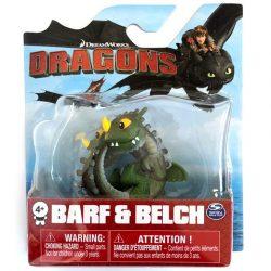 Így neveld a sárkányodat: Barf & Belch mini játékfigura - Spin Master