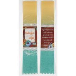 Virágos Ballagási Emlék Szalag - 6 cm-es