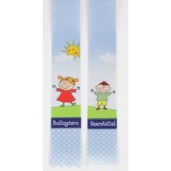 Kisgyerekes Ballagási Emlék Szalag - 4 cm-es
