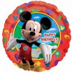 Mikiegér - Happy Birthday Mickey's Clubhouse - Fólia Lufi, 46 cm