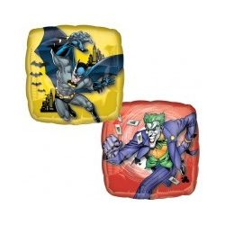 18 inch-es Batman  & Poker fólia lufi