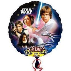 Star Wars Éneklő Fólia Lufi, 71 cm