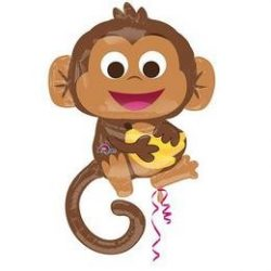Happy Monkey Super Shape Fólia Lufi