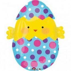 Chick egg shape fóli lufi