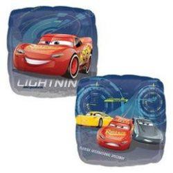 17 inch-es Verdák 3 - Cars 3 - McQueen és Barátai Fólia Lufi