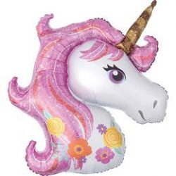Glitter Unicorn Super Shape Fólia Lufi