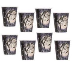 Kísérteties Éjszaka Halloween Parti Pohár - 270 ml, 8 db-os
