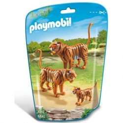 Tigrisek és a kis tigriskölyök