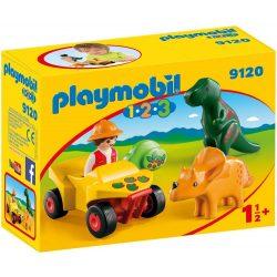 Playmobil - Dínó kutató quad 9120