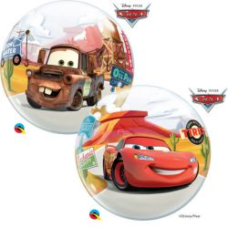 22 inch-es Disney Lightning McQueen & Mater Bubbles Lufi