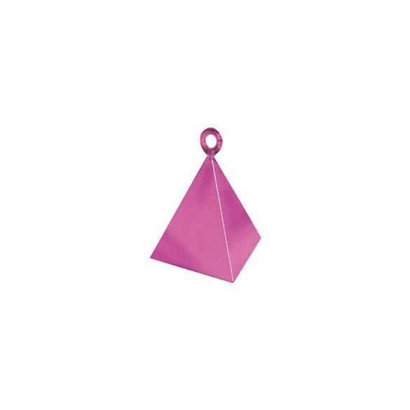 Magenta Rózsaszín Piramis Léggömbsúly