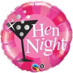 18 inch-es Hen Night! Rózsaszín Fólia Lufi Lánybúcsúra q15828
