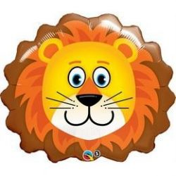 29 inch-es Oroszlán Fej - Lovable Lion Fólia Lufi