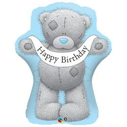 36 inch-es Tatty Teddy Birthday Banner Fólia Lufi
