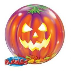 22 inch-es Jack O'Lantern - Tökfej Bubble Lufi Halloweenre