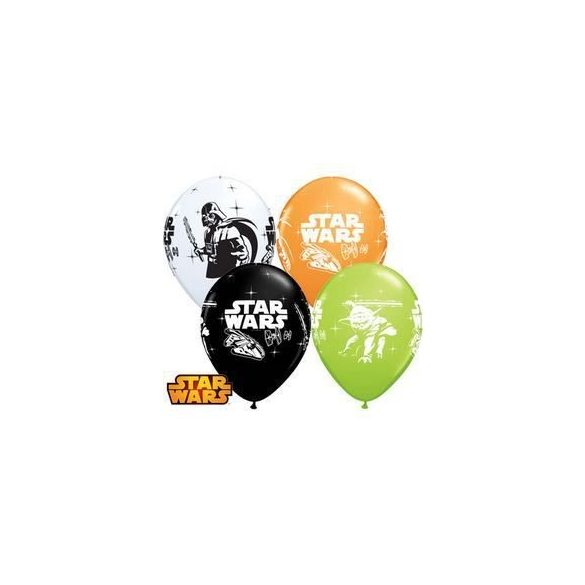 11 inch-es Star Wars - Darth Vader & Yoda Special Assortment Lufi (6 db/csomag)