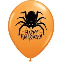 11 inch-es Pók Mintás - Halloween Spider Lufi