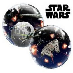 Star Wars Dupla Buborék Lufi, 61 cm