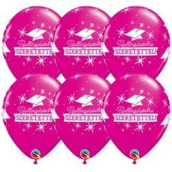 11 inch-es Ballagásodra Szeretettel Wild Berry Lufi Ballagásra