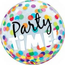22 inch Party Time Bubble lufi