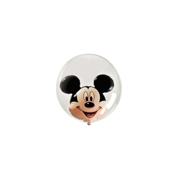 Mickey Egér Dupla Buborék Lufi, 61 cm