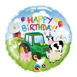 18 inch-es Farm Állatos - Birthday Barnyard Farmos Szülinapi Fólia Lufi