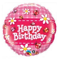 Happy Birthday lufi 18 inch - katicás