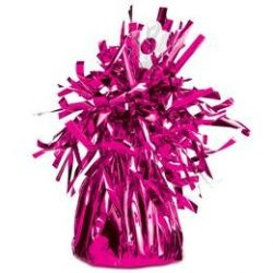 Magenta Rózsaszín Bojtos Fólia Léggömbsúly - 170 gramm