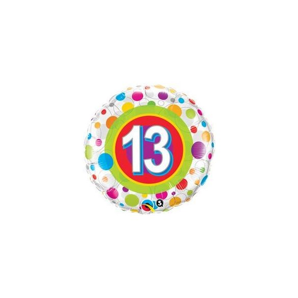 13-as színes pöttyös fólia fólia